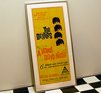 A Hard Day's Night Original Poster