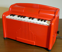 MAGNUS ORGAN #1510 in Red