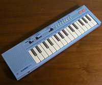 Casio PT-1 in sky blue